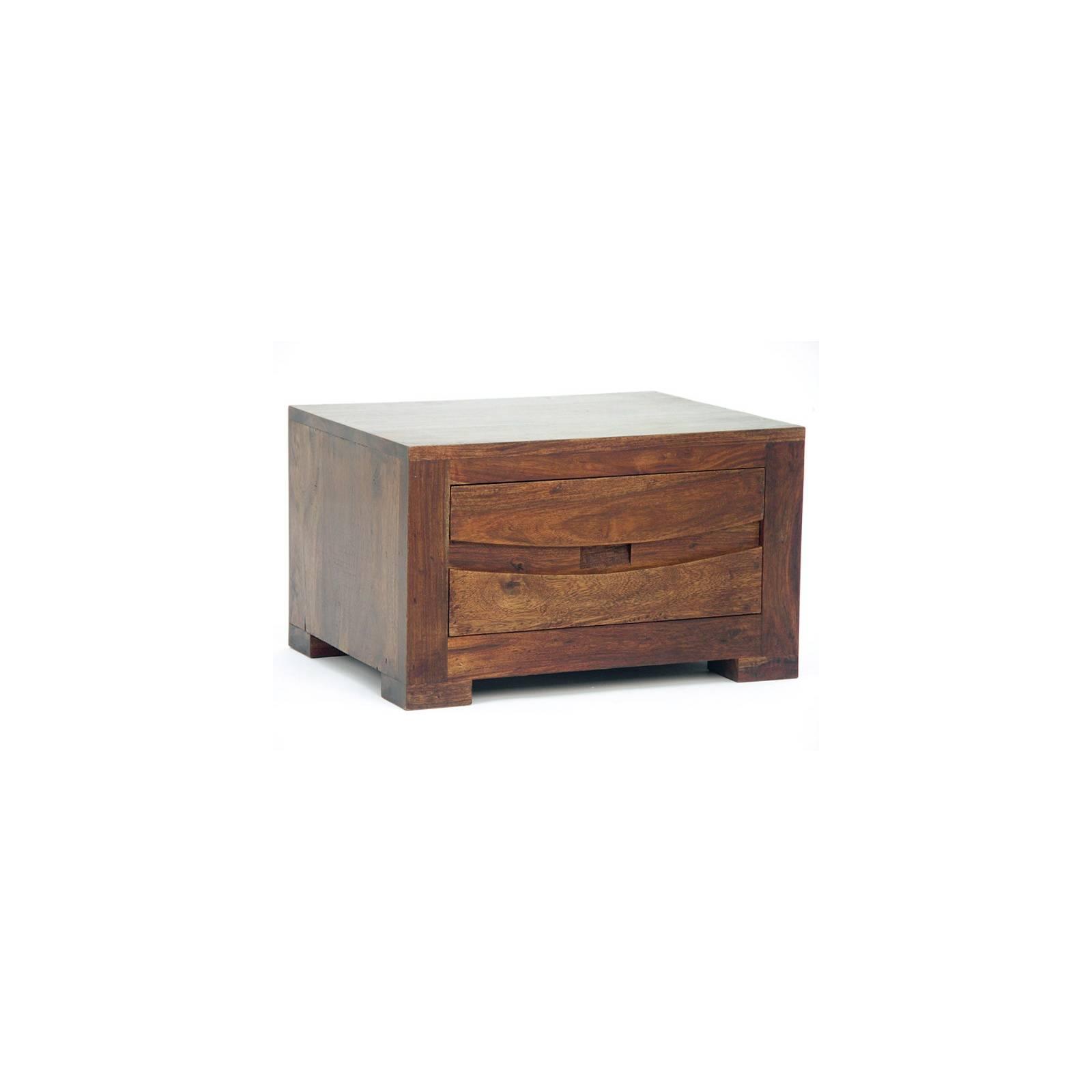 Chevet Soleil Levant Palissandre - achat meubles bois exotique