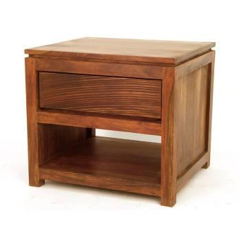 Chevet Sikasso Palissandre - meubles de chambre style ethnique