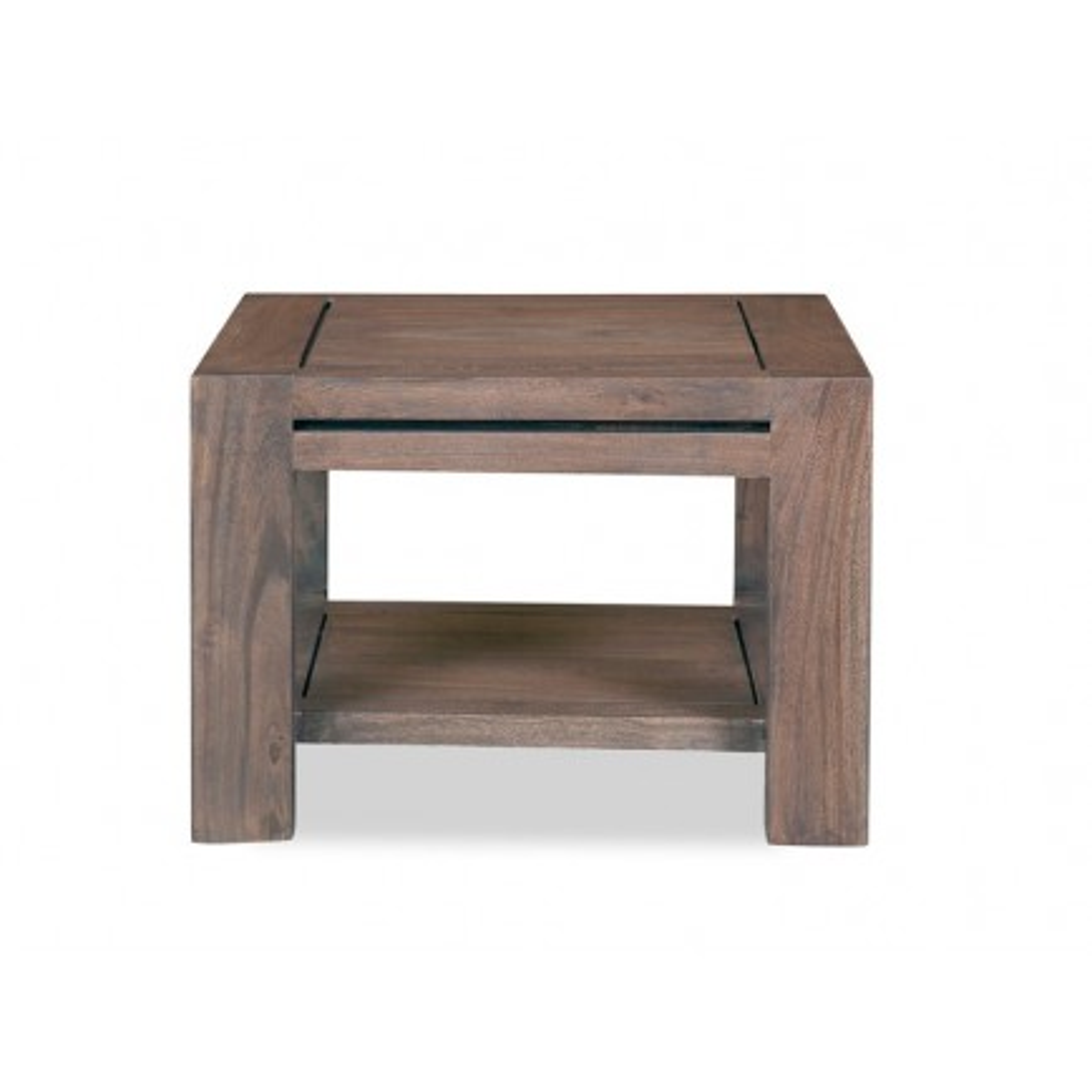 Chevet Tara Grisée Acacia - meuble design haut de gamme