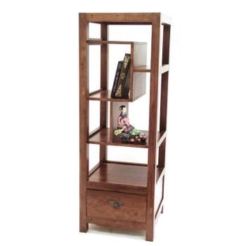 Colonne Déstructurée Omega Hévéa - meuble style design