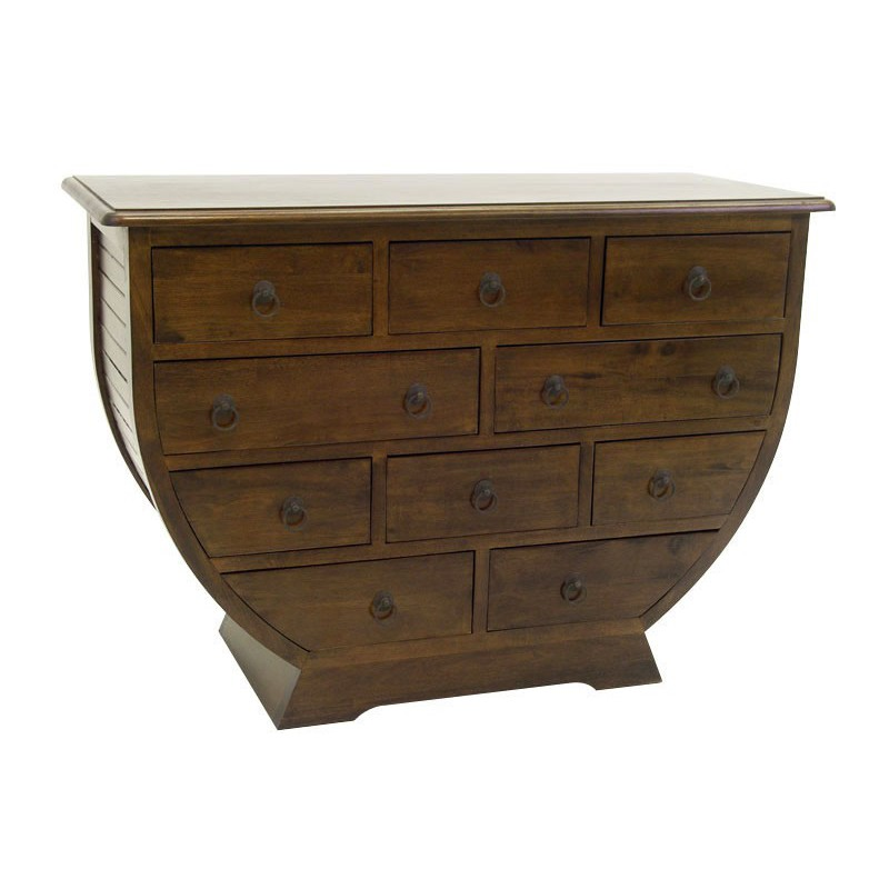 Commode bois exotique maison design - Commode style colonial ...