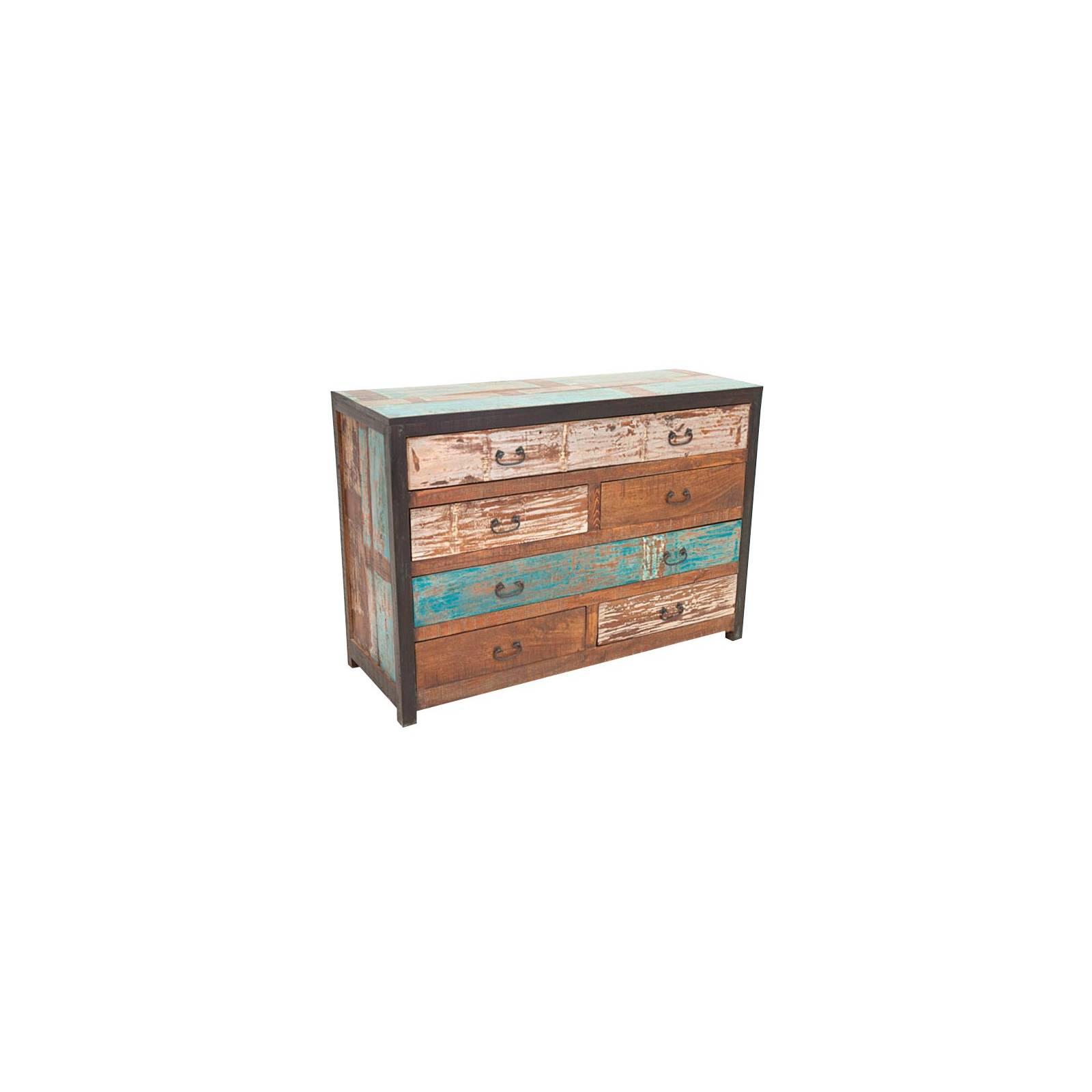Commode Butterfly Palissandre - meuble industriel en bois exotique