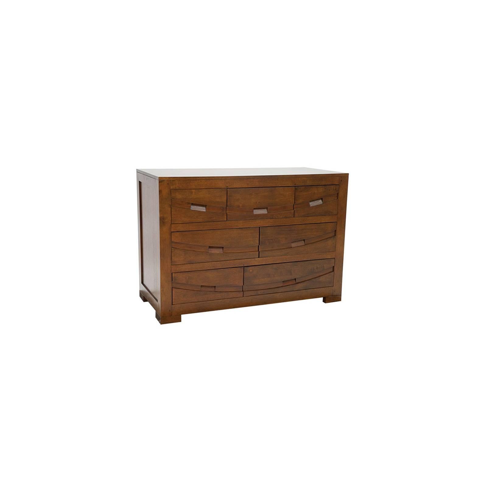 Commode Grand Modèle Horizon Hévéa - meuble style ethnique