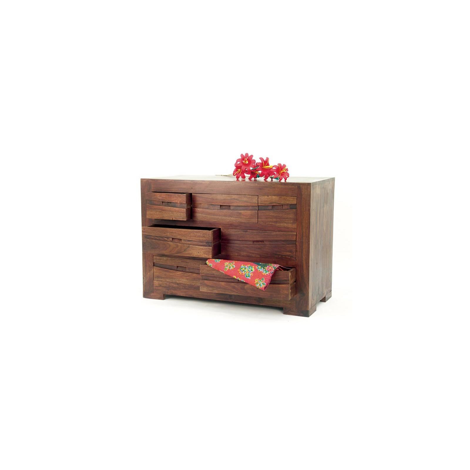 Commode Soleil Levant Palissandre - achat meubles bois exotique