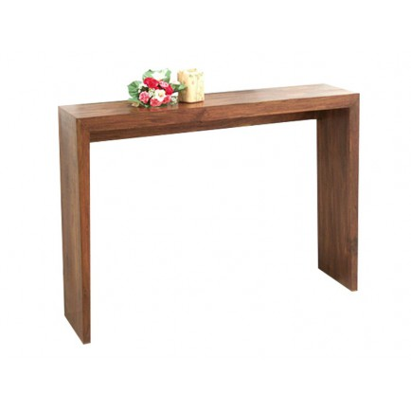 Console Angulaire Zen Palissandre - meubles bois exotique
