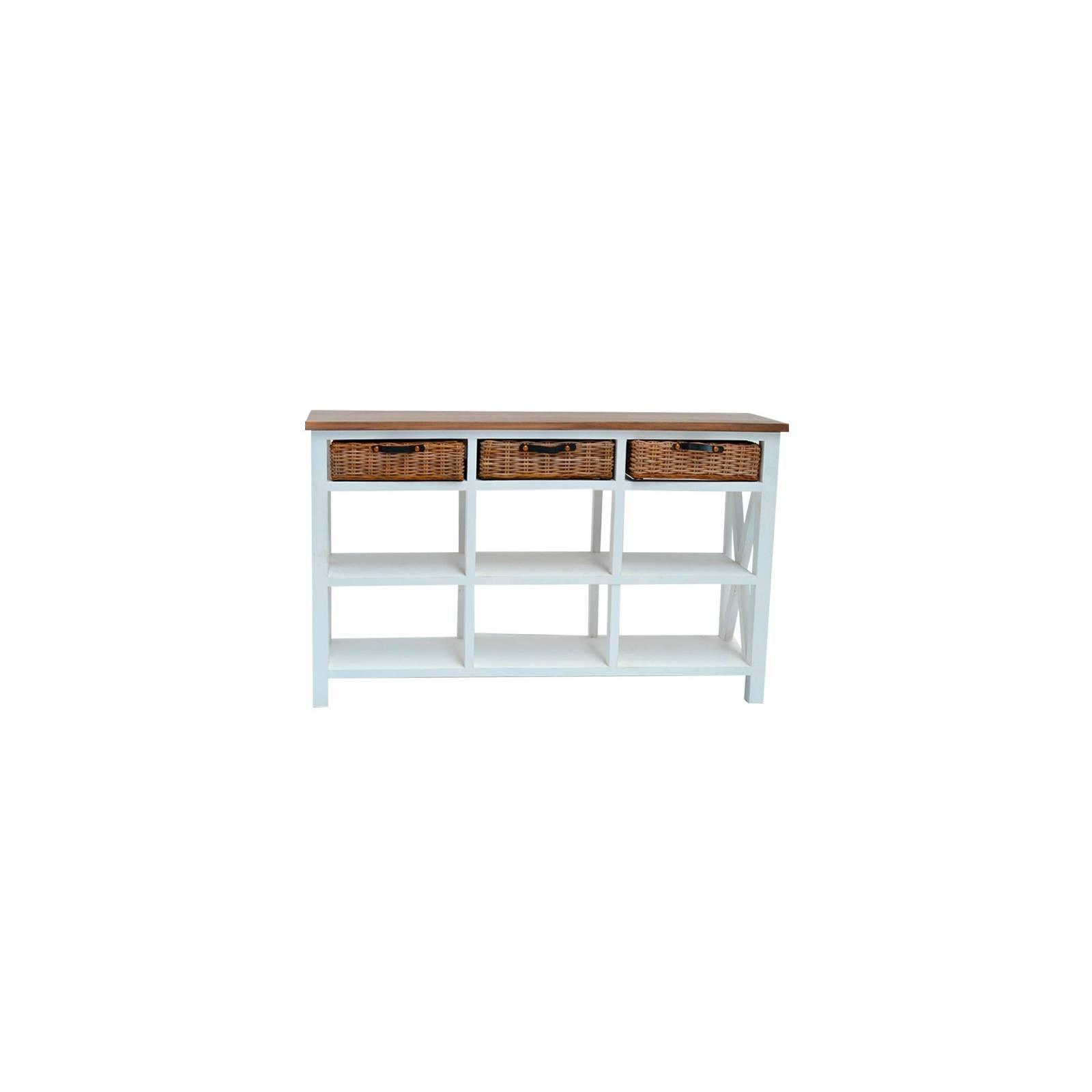 Console Bokéo Manguier - meuble bois exotique