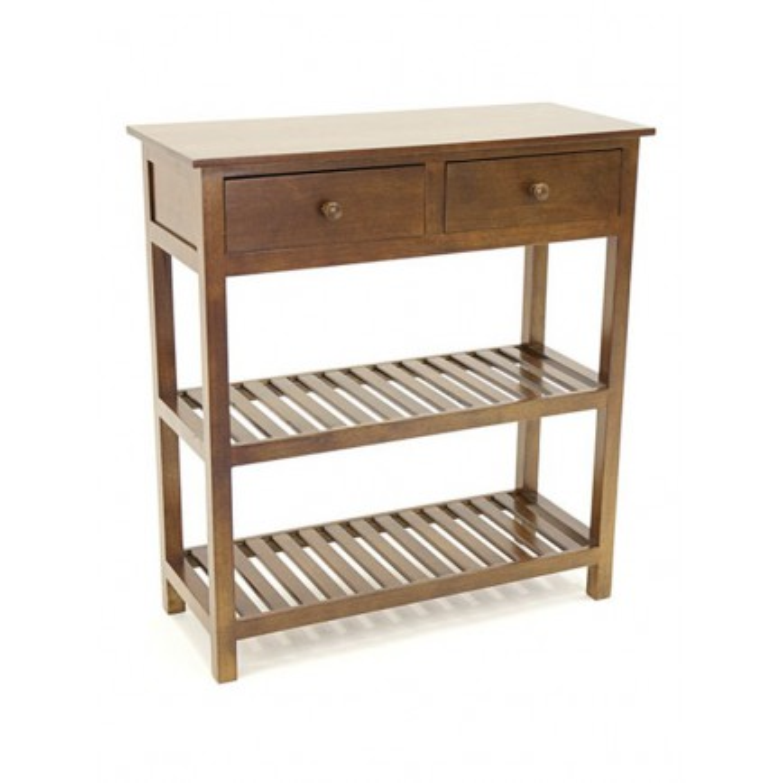 Console Double Plateau Tradition Hévéa - meuble style classique