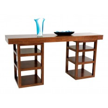 Console Etage Omega Hévéa - meuble style design