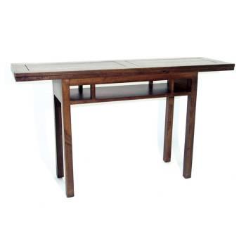 Console Extensible Omega Hévéa - meuble style design