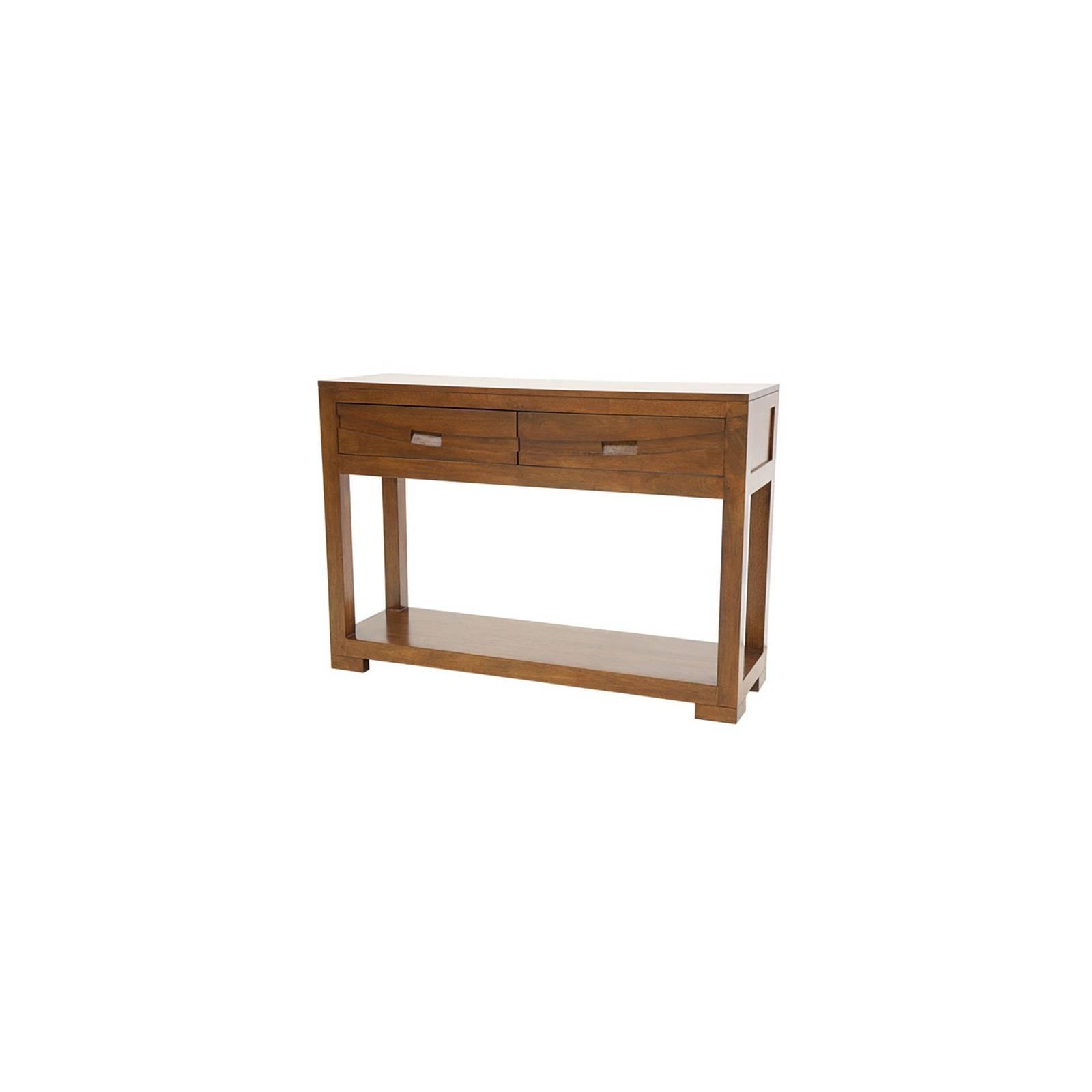 Console Horizon Hévéa - meuble style ethnique