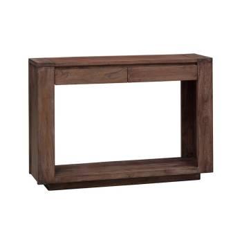 Console Neos Acacia - achat meuble en bois exotique