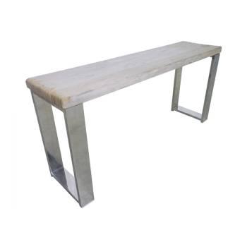 Console Odessa Teck - meuble ethnique design