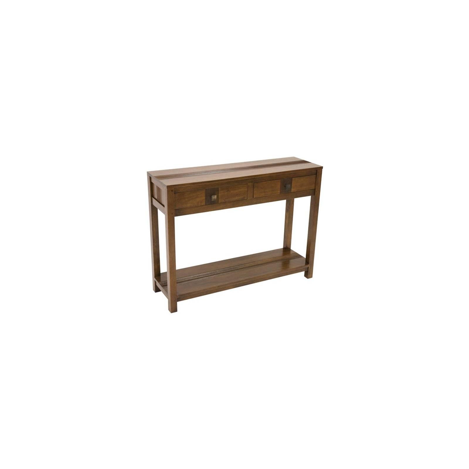 Console Siguiri Hévéa - meuble bois massif