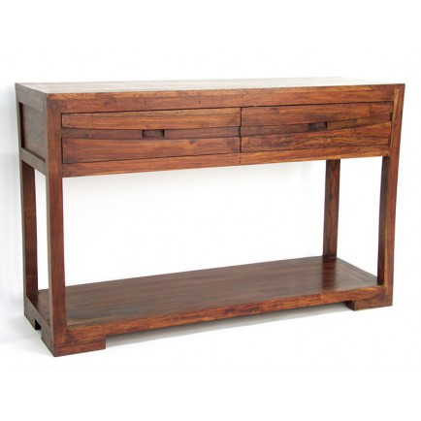 Console Soleil Levant Palissandre - achat meubles bois exotique