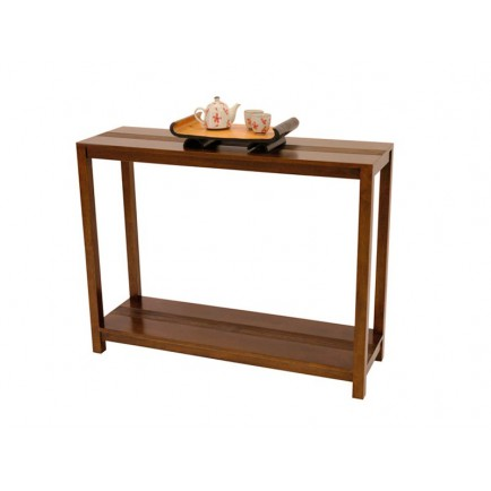 Console Striée Siguiri Hévéa - meuble colonial