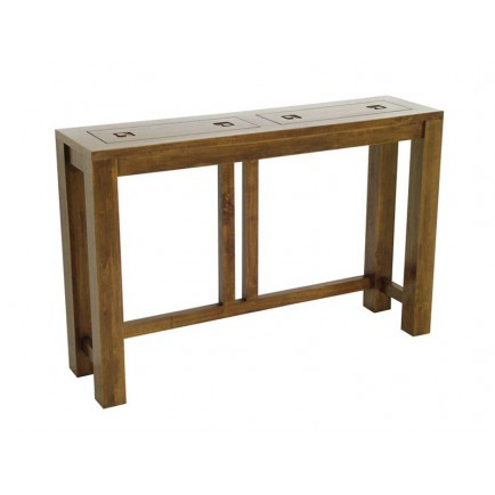 Console Tanoa Hévéa - mobilier bois massif