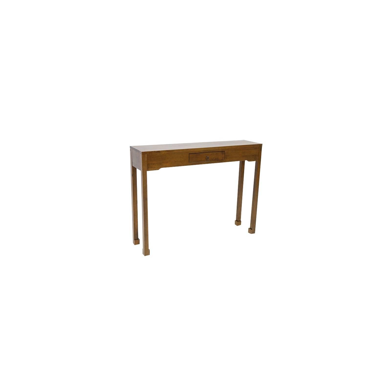 Console PM Chine Hévéa - meuble bois exotique