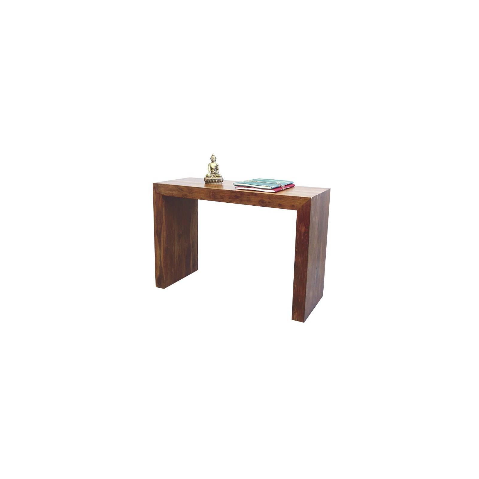 Console Palissandre Zen - meubles bois exotique