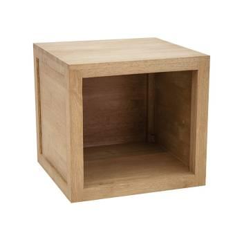 Cube Montréal Hévéa - meuble design
