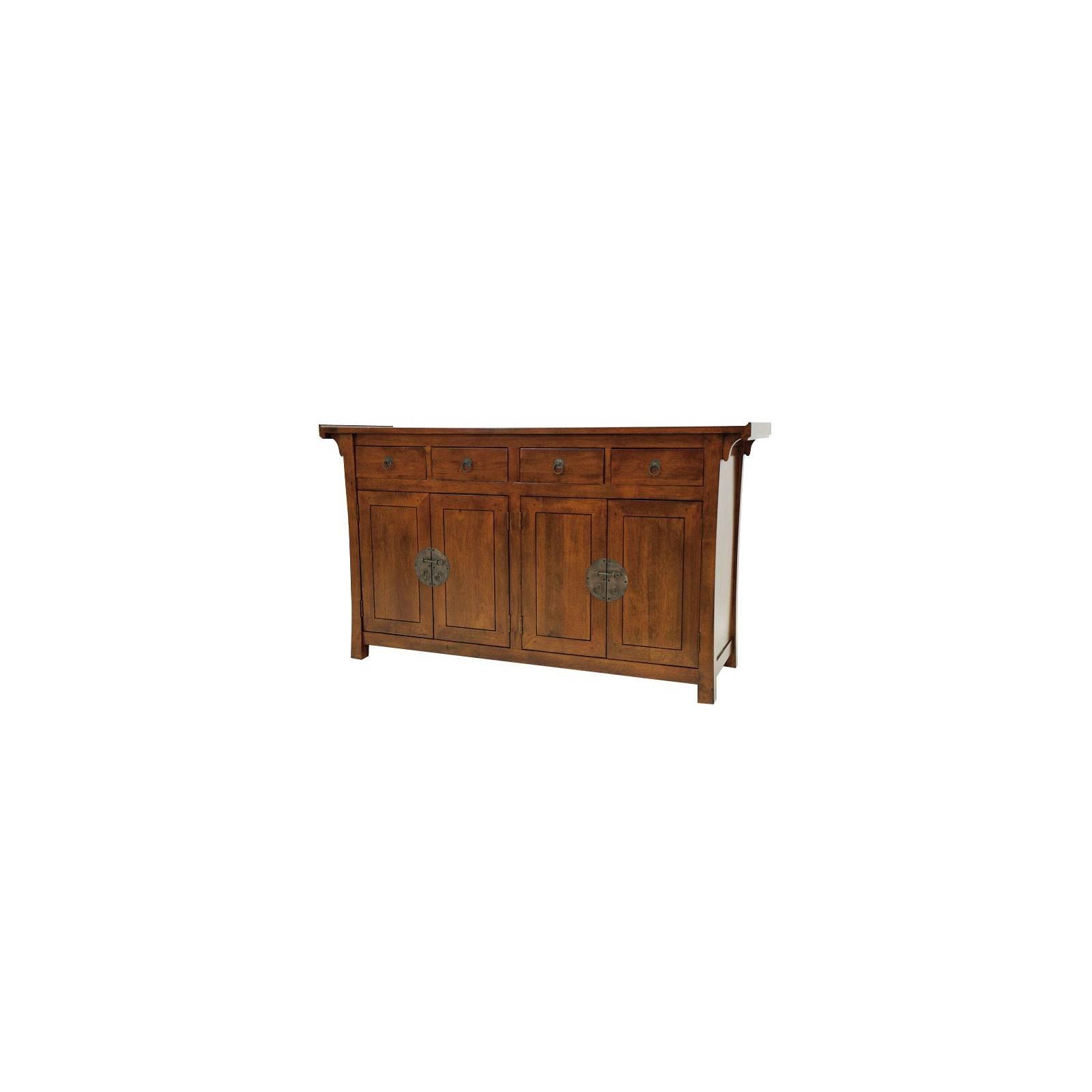 Enfilade Chine Hévéa - meuble bois exotique