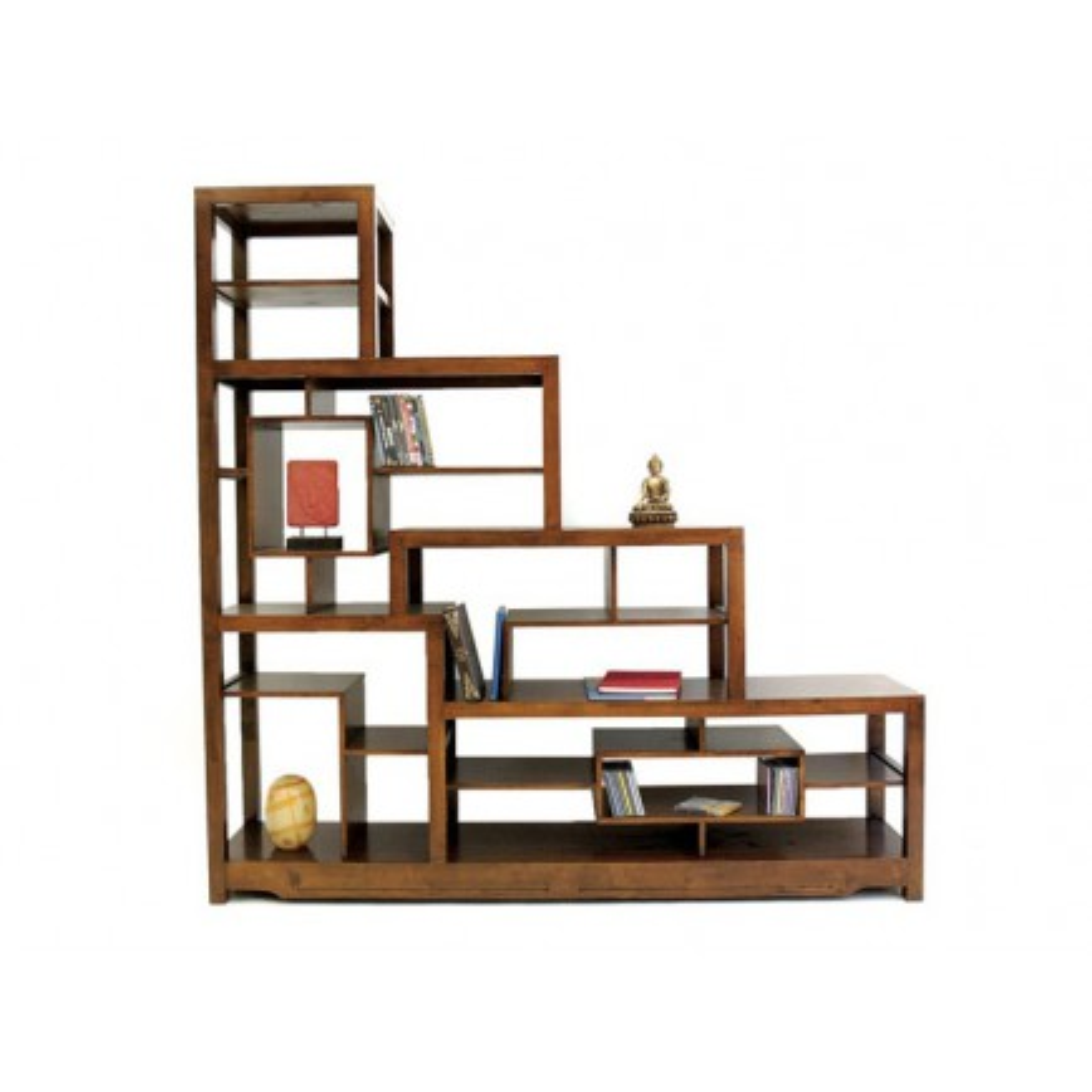 Escalier Déstructuré Omega Hévéa - meuble style design