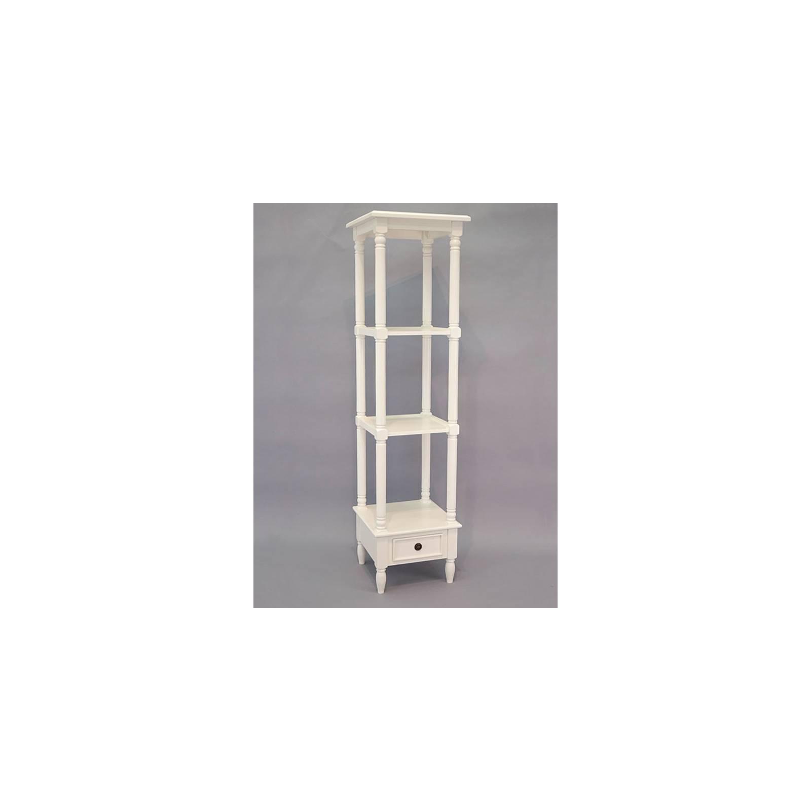 Etagère Colonne Charme Hévéa - meuble style classique