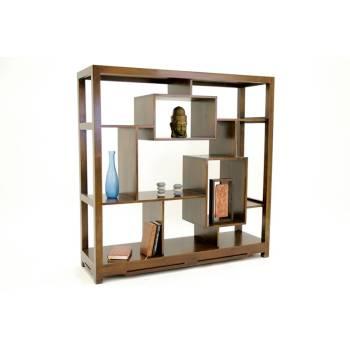 Etagère Déstructurée Omega Hévéa - meuble style design