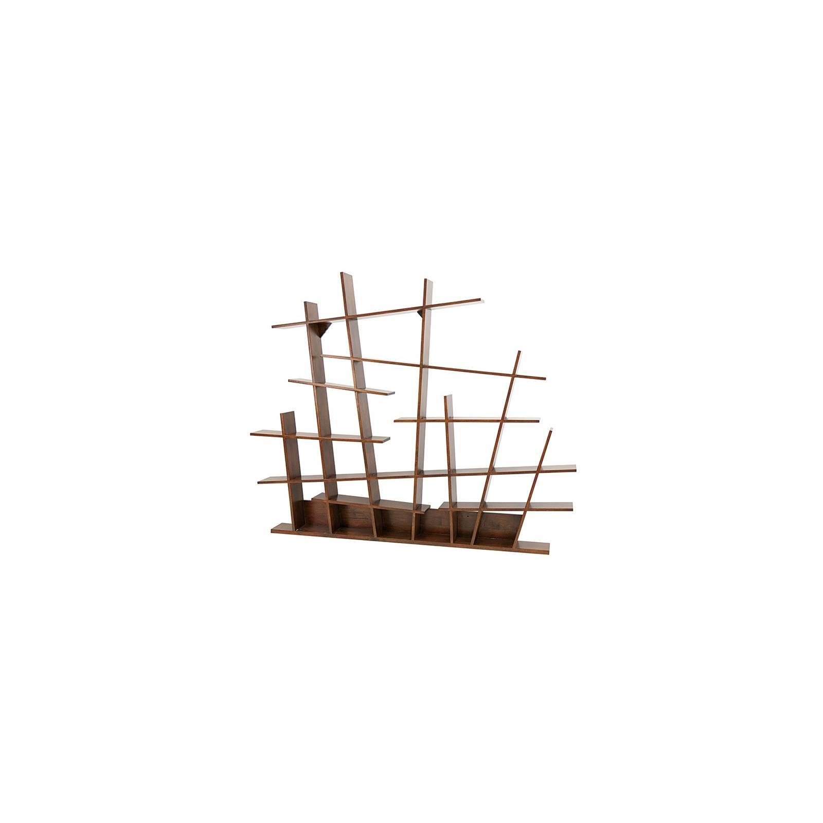 Étagère Destructurée Oméga Hévéa - meuble style design