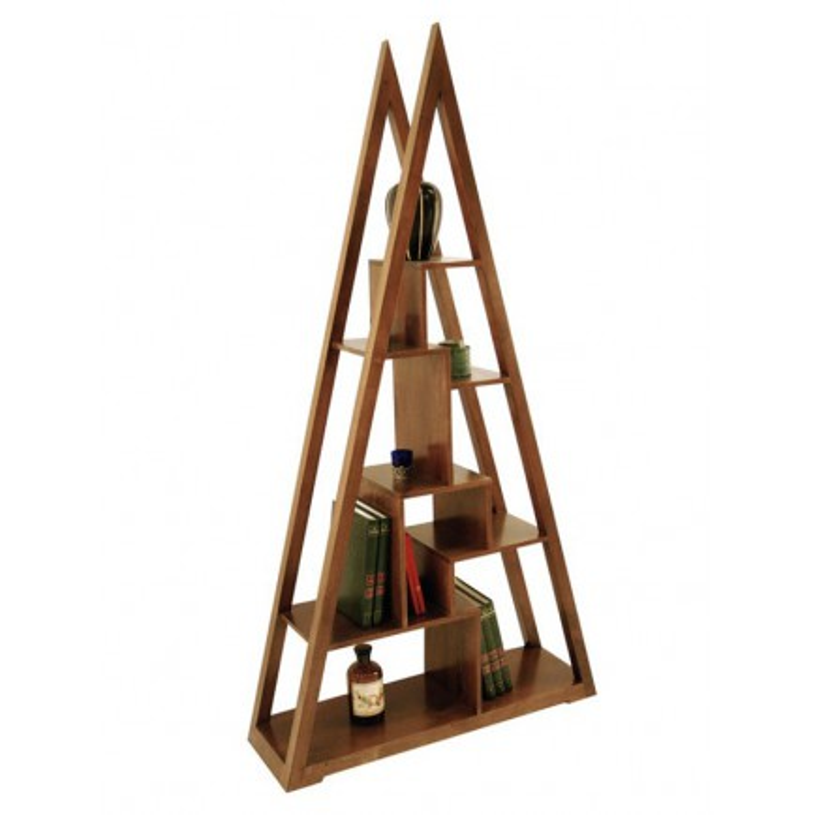 Etagère Pyramide Omega Hévéa - meuble style design