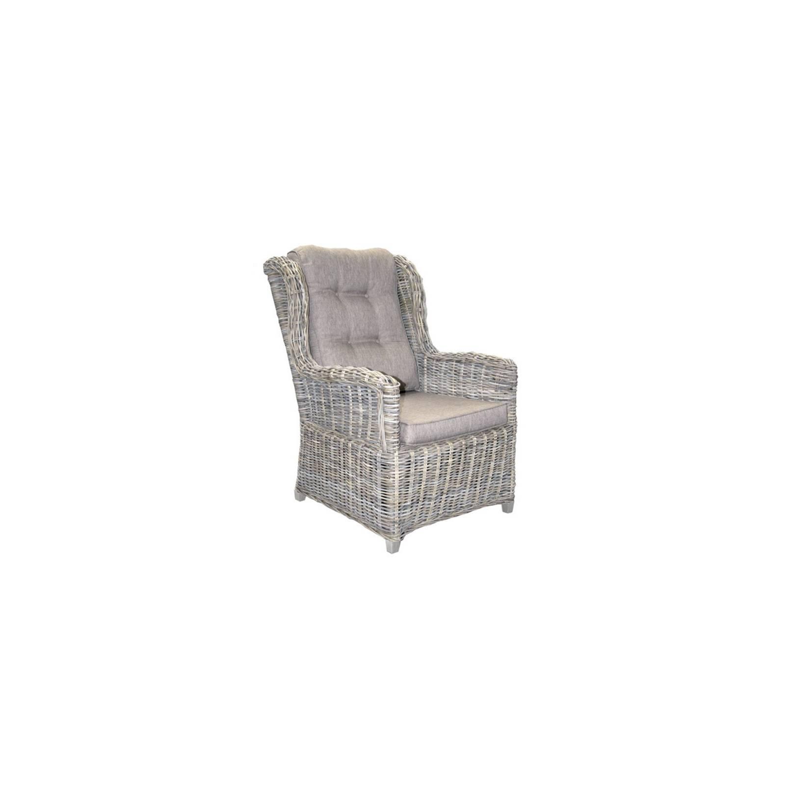 fauteuil bridge en rotin jacob - meuble pour la véranda