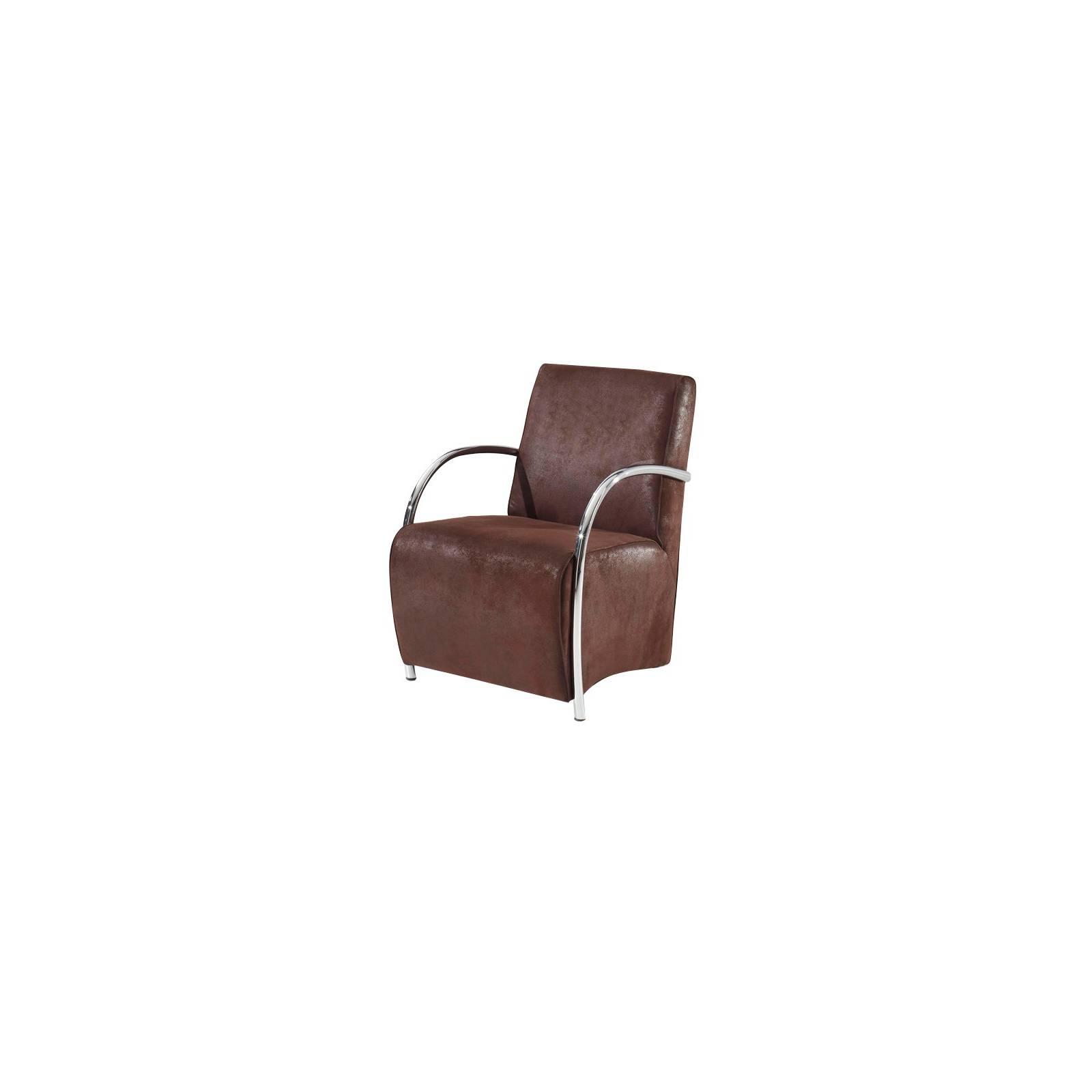 Fauteuil Club One Tissu - fauteuil rétro