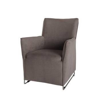 Fauteuil Club Touch Tissu - fauteuil rétro