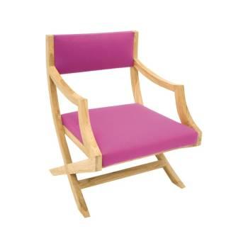 Fauteuil Colonial Personnalisable Teck - achat fauteuils