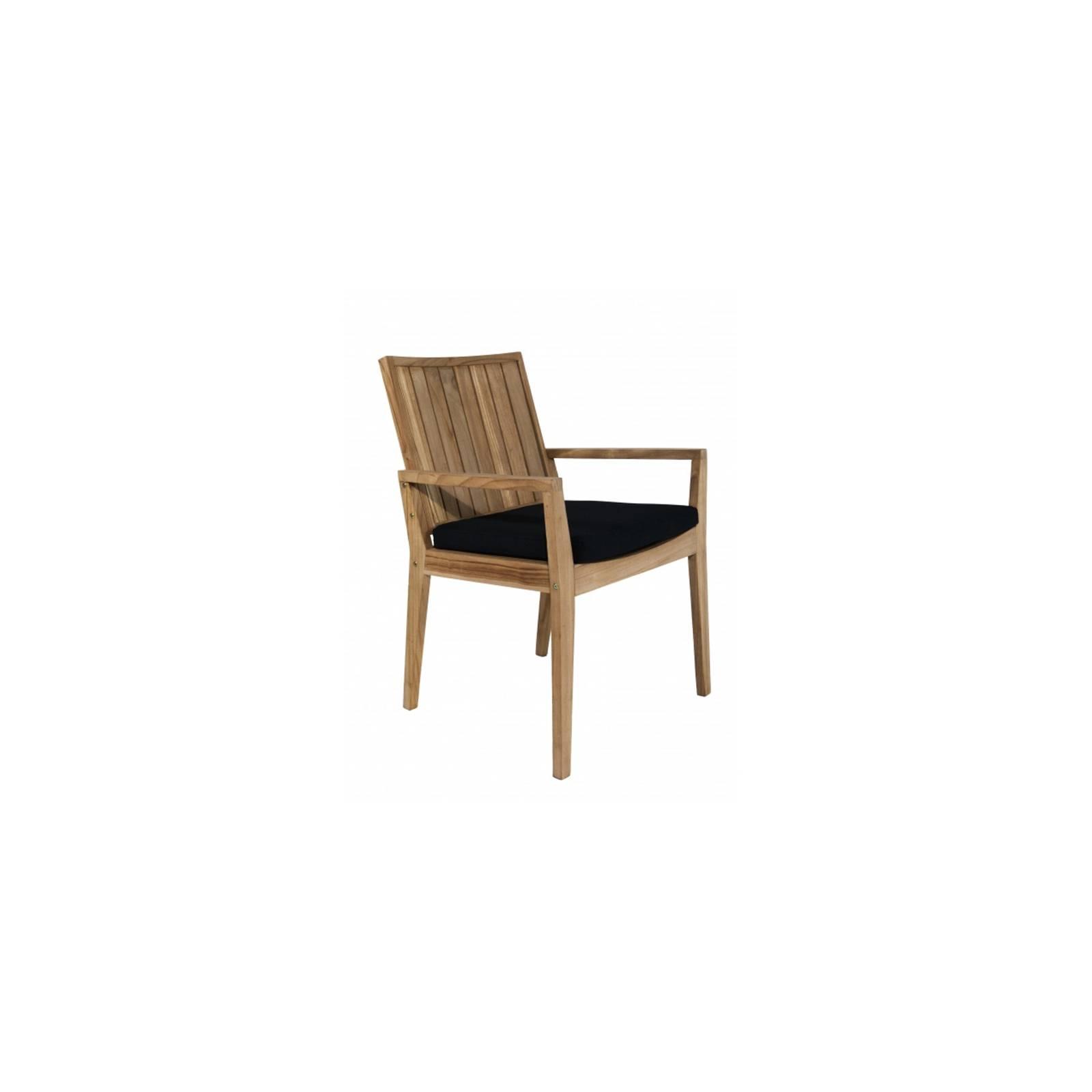 Fauteuil Coussin Taman Teck Recyclé - meuble de jardin