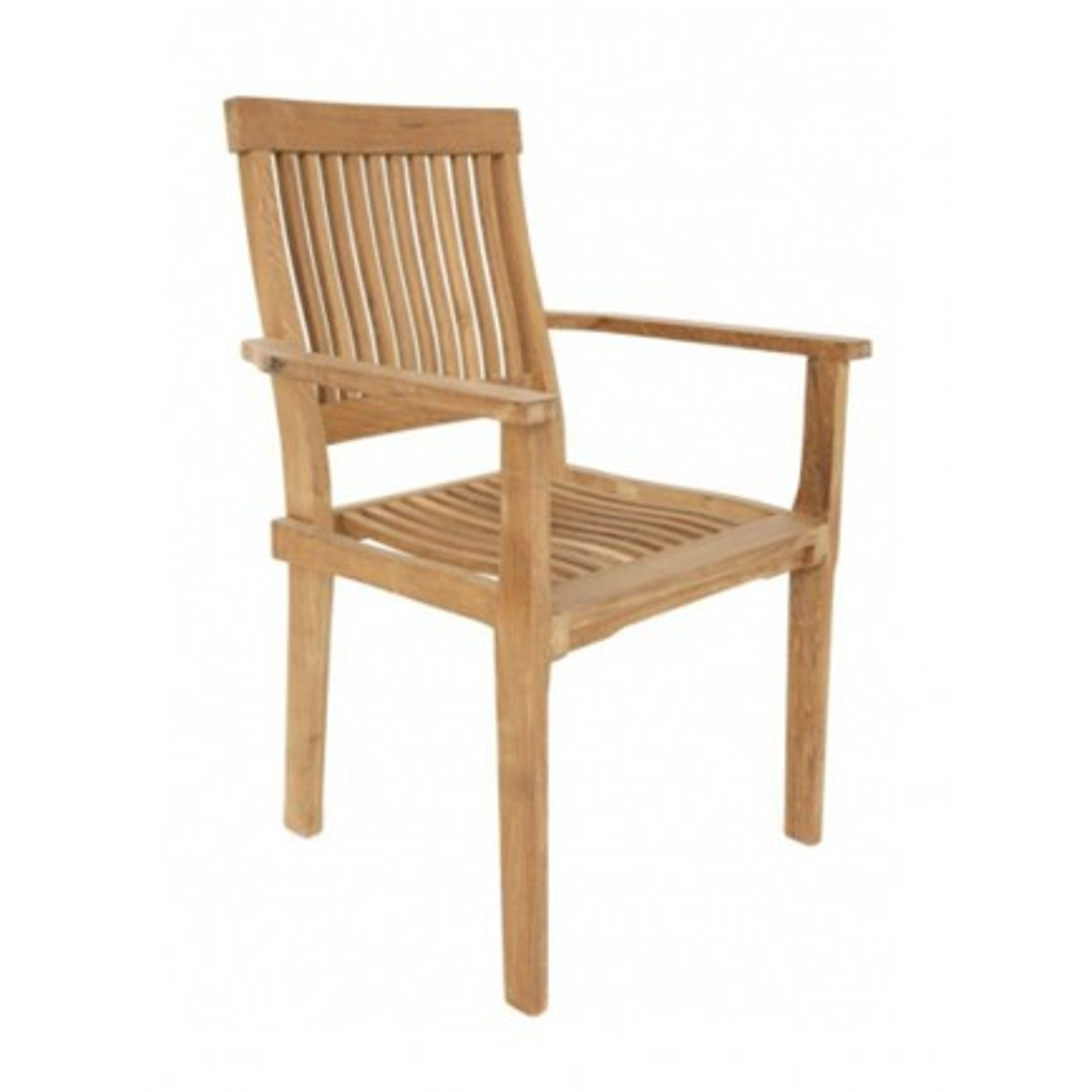 Fauteuil Empilable Taman Teck Recyclé - meuble de jardin