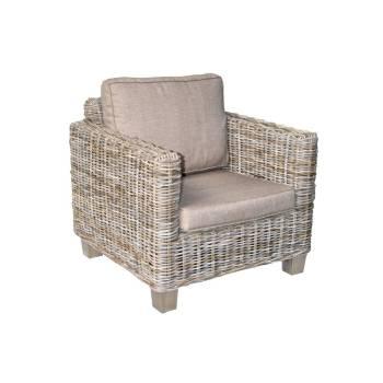 Fauteuil Giorgia Kobo Rotin - meuble haut de gamme