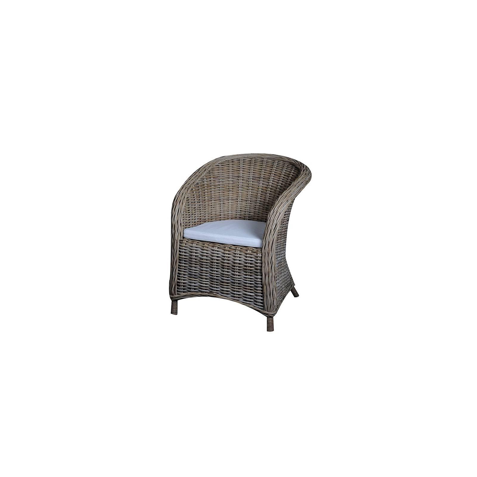 Fauteuil Hampton Kobo Rotin - meuble haut de gamme