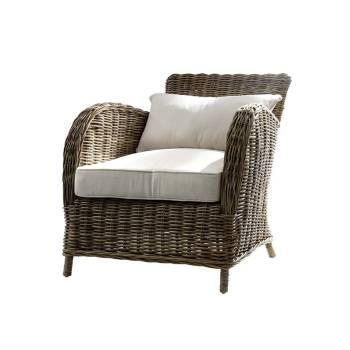 Fauteuil Lotus Rotin Kobo - meuble haut de gamme