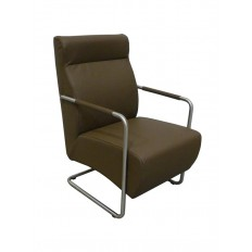 Fauteuil Lounge Berry Cuir