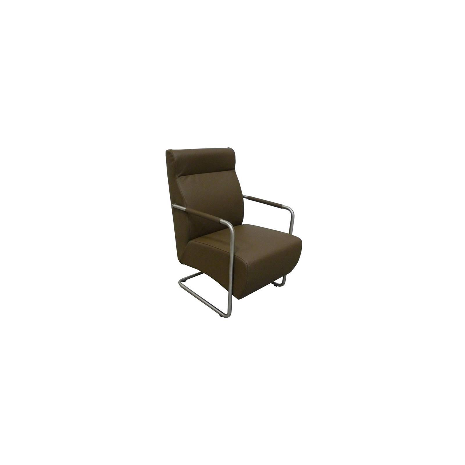 Fauteuil Lounge Berry Cuir - fauteuil rétro