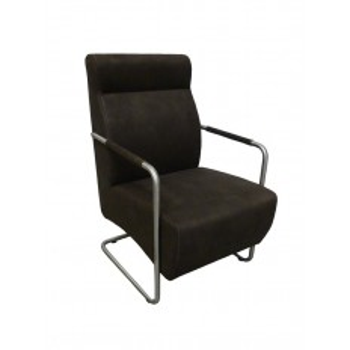 Fauteuil Lounge Berry Microfibre - fauteuil rétro