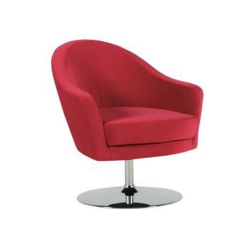 Fauteuil Shell Tissu - fauteuil de bureau