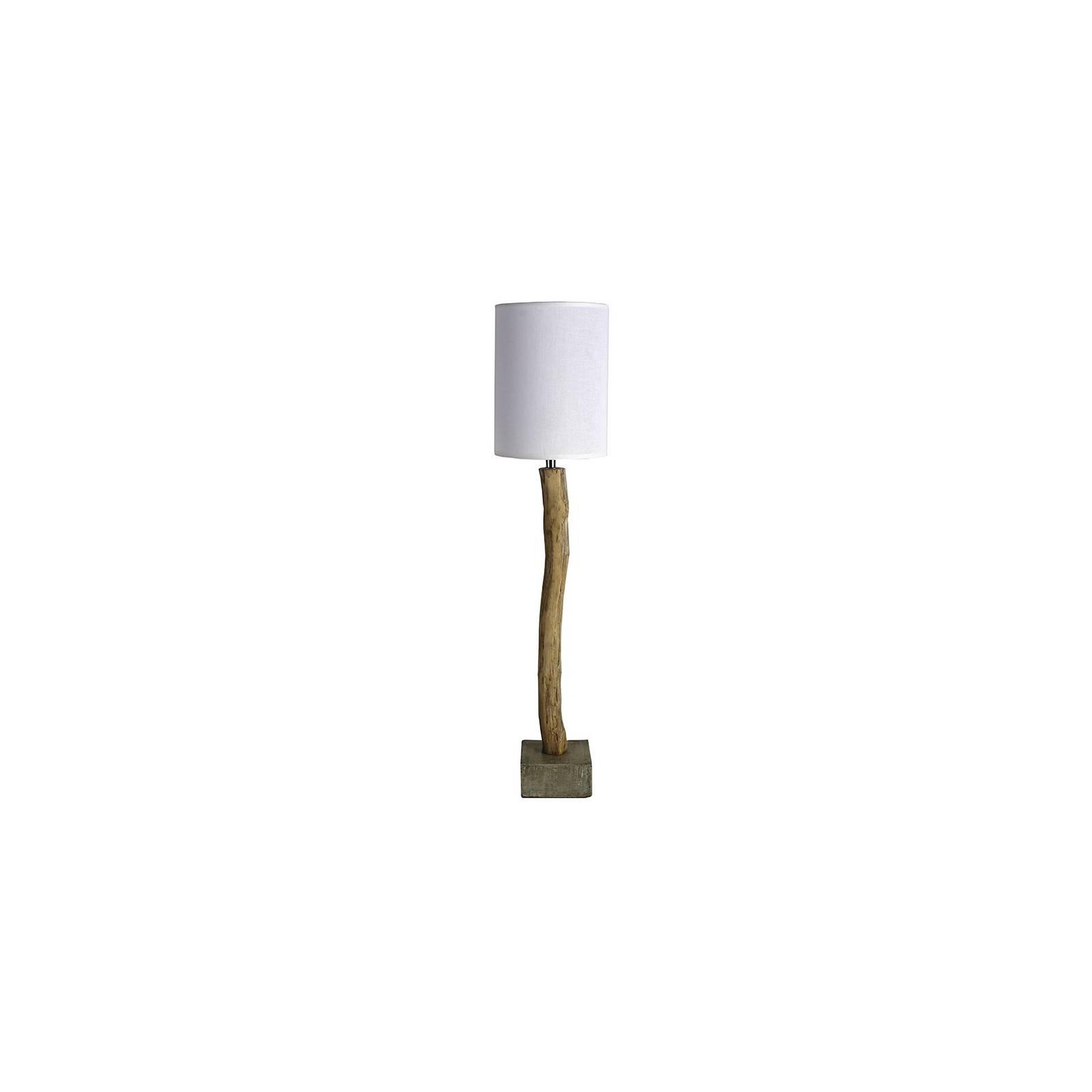 Lampe Bakou Bois Flotté - déco style ethnique