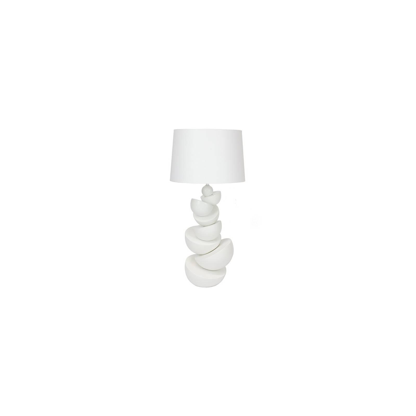 Lampe Bluemoon Blanche Céramique - déco design