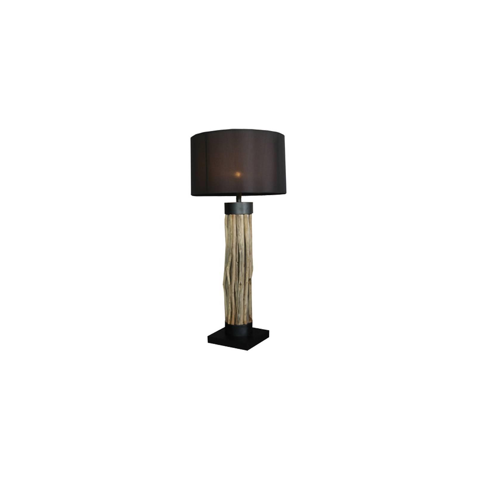 Lampe Damas Bois Flotté - déco style exotique