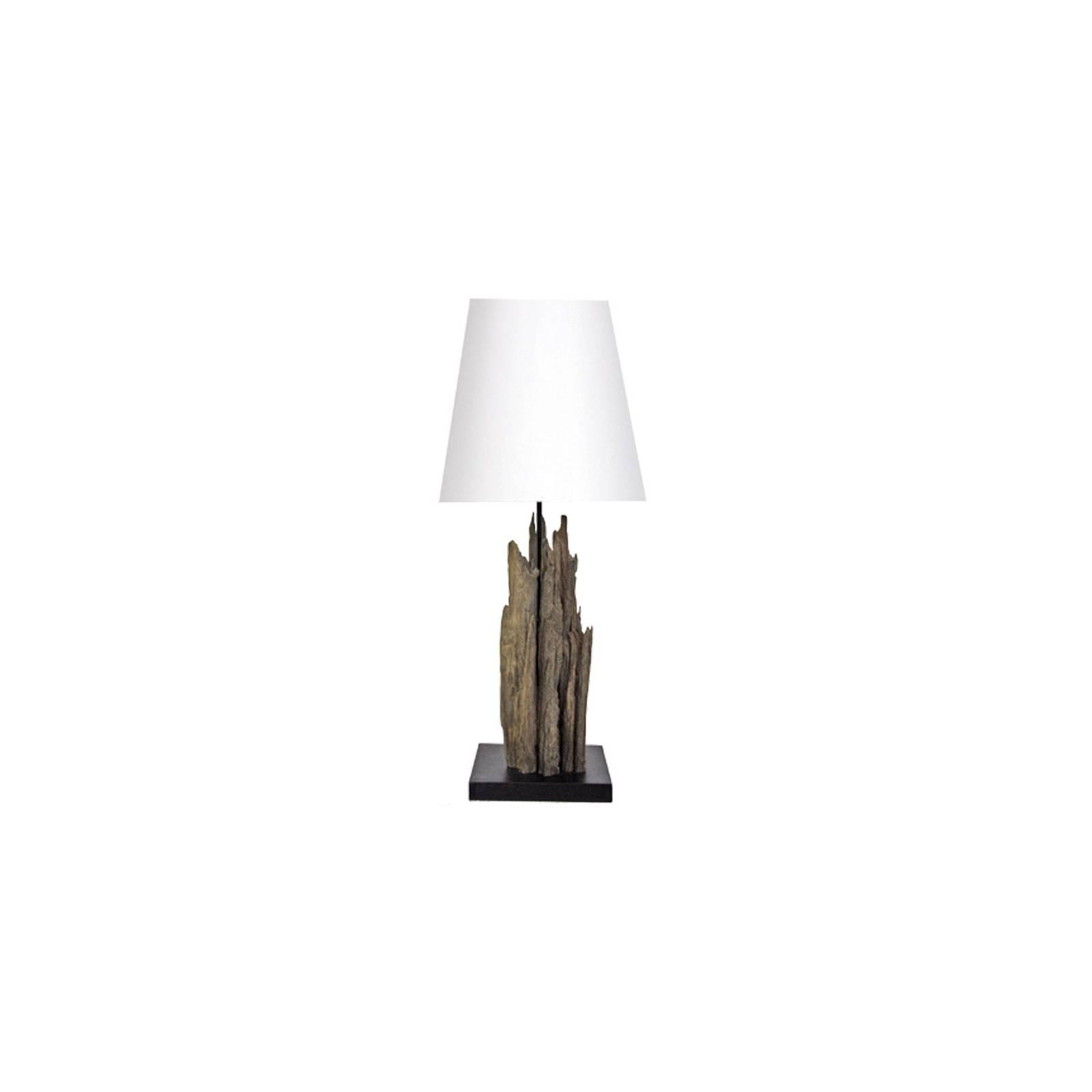 Lampe Maori Bois Flotté - déco style exotique