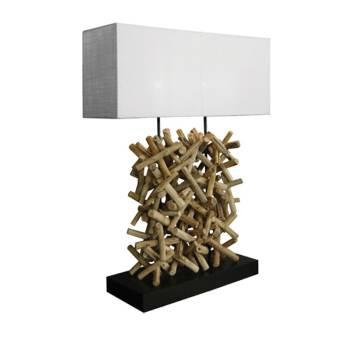 Lampe Séoul Bois Flotté