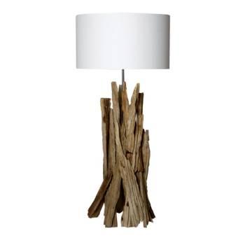 Lampe Taiga Bois Flotté - déco style exotique