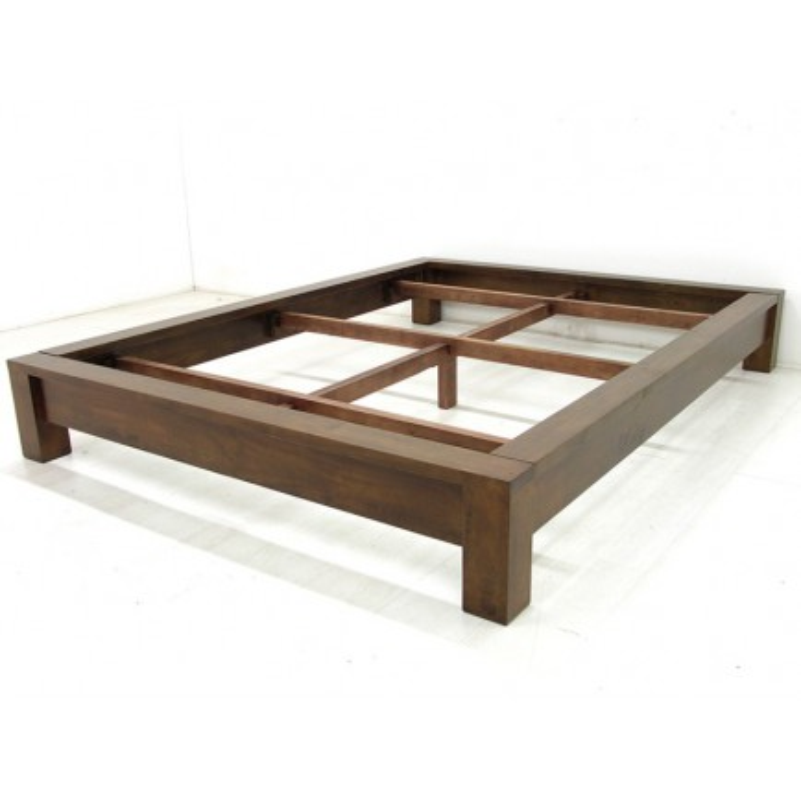 Lit 140 Omega Hévéa - meuble style design
