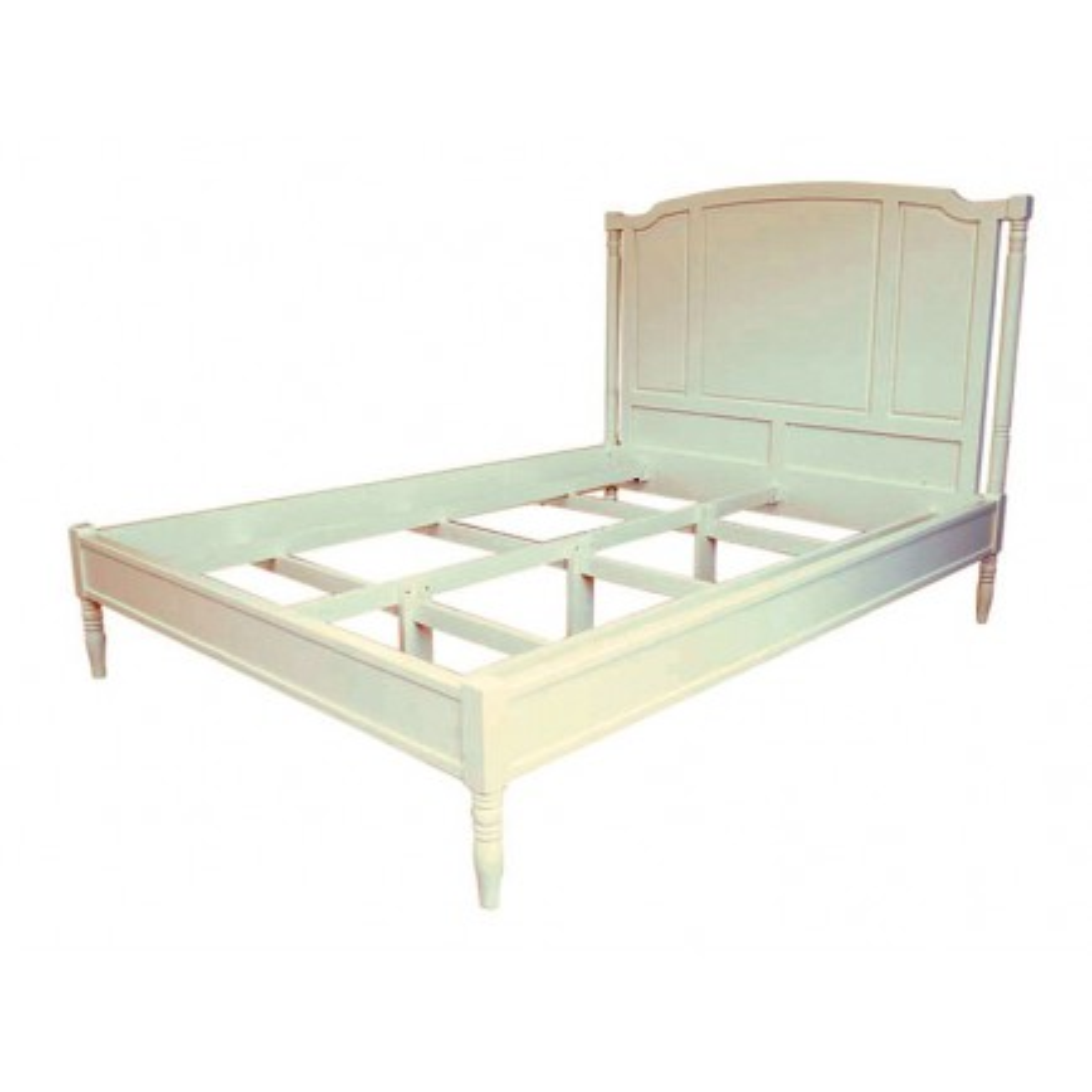 Lit 160 Charme Hévéa - meuble style classique
